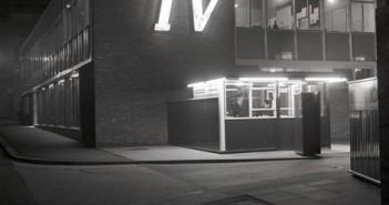 GRANADA TELEVISON  1960  MAIN ENTRANCE  COPYRIGHT GRANADA