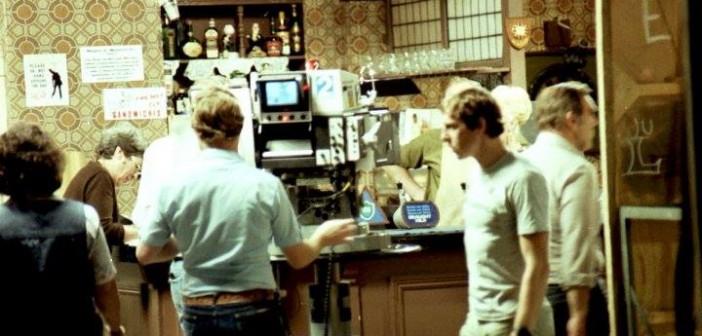 Coronation Street - filming in Rovers Return set