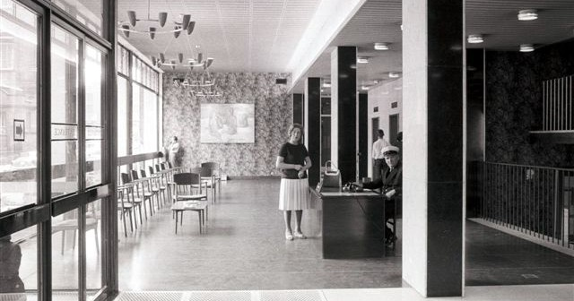 Granada TV  Reception  1964  Copyright Granada