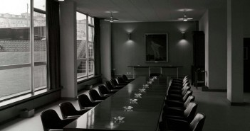 Empty Committee room used for Crown Court jury