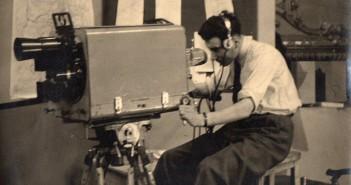 Early studio cameraman - 1950's?